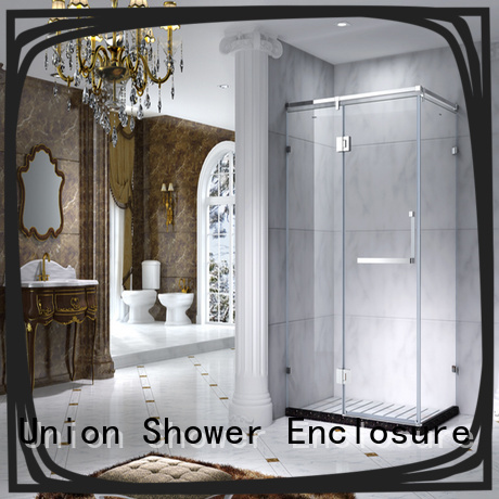C&Y Union framed glass shower enclosure for sale for alcove