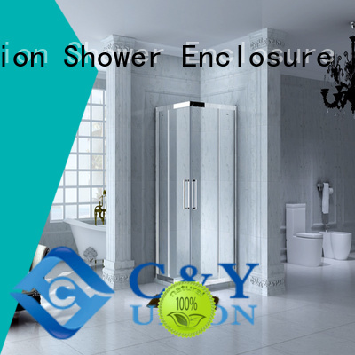 High Quality Framed Rectangle shower enclosure with sliding door,CY1142