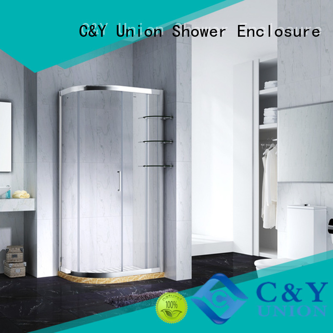 aluminum semi framed shower door for sale for bath
