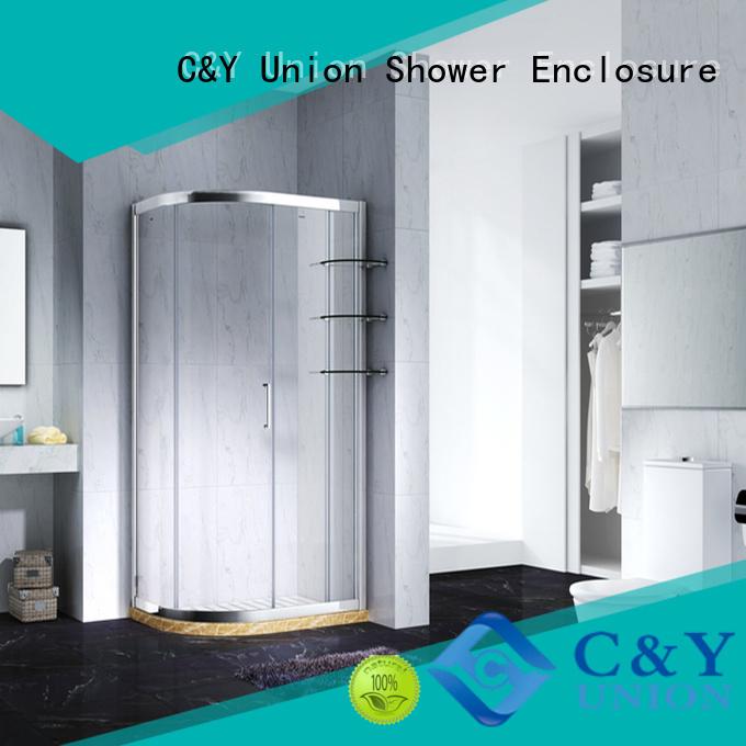 aluminum semi framed shower door for sale for bath