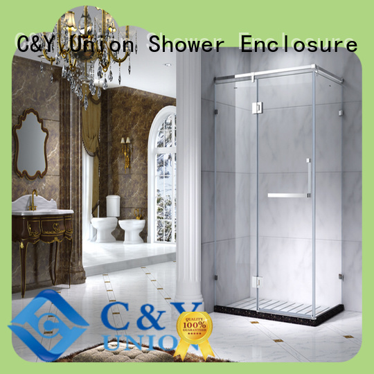 aluminum semi framed shower door for tub for shower room