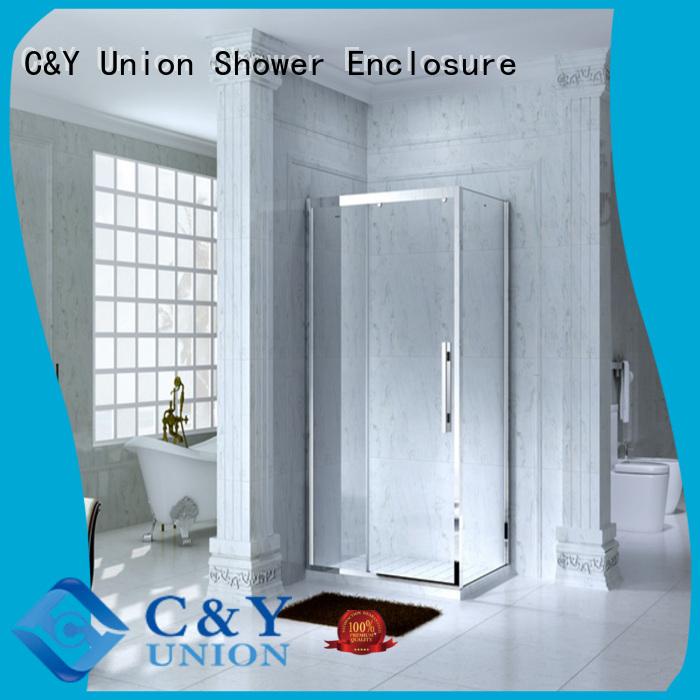 Framed Rectangle shower enclosure with sliding door,CY1131