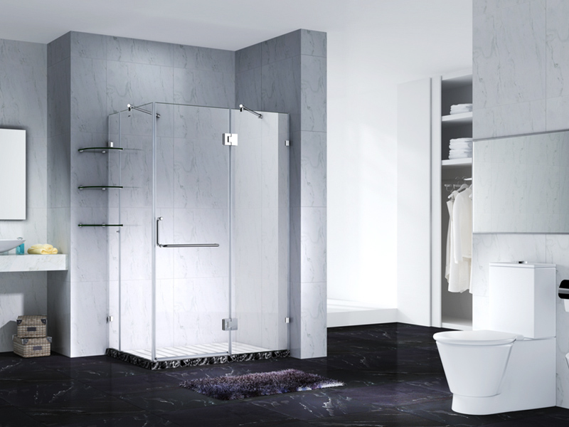 C&Y Union elegant glass shower enclosures for bagnio-1