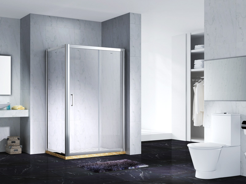 durable semi framed shower for shower room-2