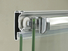 quickinstallation chrome framed shower door for tub shower room C&Y Union