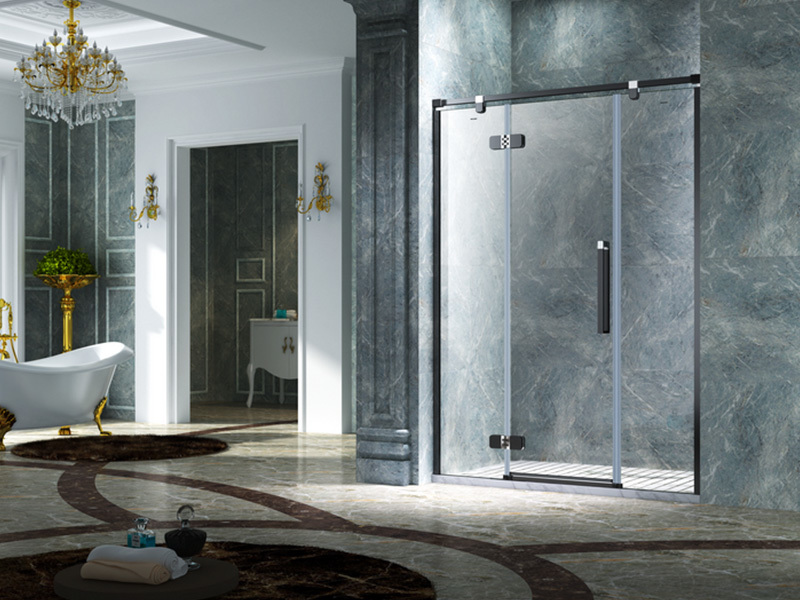 C&Y Union semi frameless shower door factory for bathtub