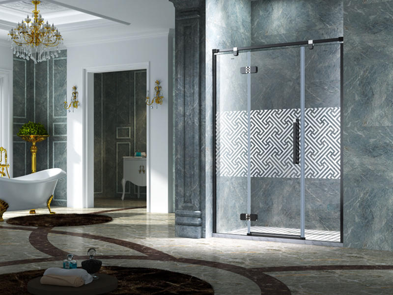practical frameless shower shower panels for shower room-2