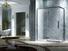 Elegant Design Semi Frameless Diamond shape shower enclosure with pivot door,CY3231-1