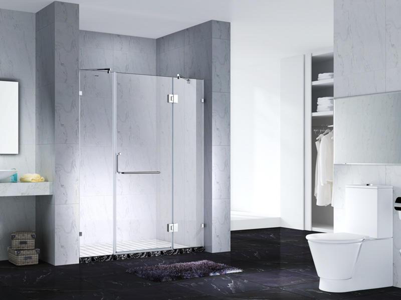 Fashion Design Frameless Slimline Rectangle shower enclosure with pivot door,CY6231-1