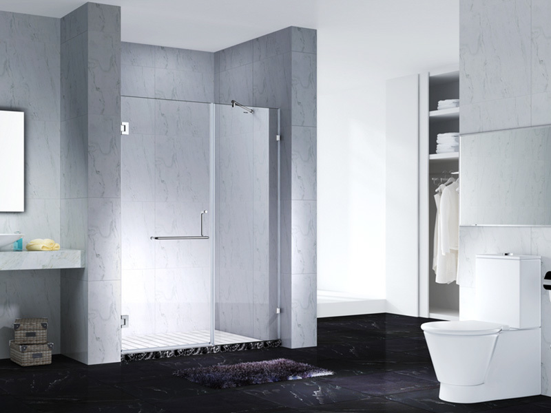 C&Y Union frameless shower screen cubicles for bagnio
