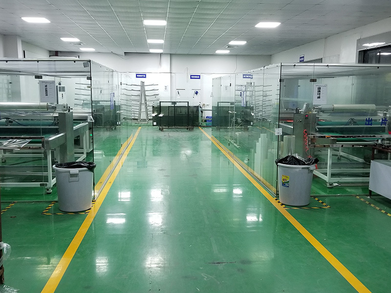 Our Production Line for Explosion Proof Film Sticking