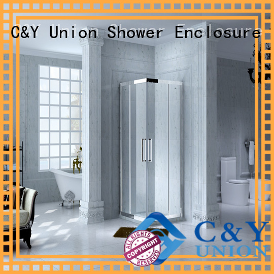 elegant steel framed shower doors for tub bagnio C&Y Union
