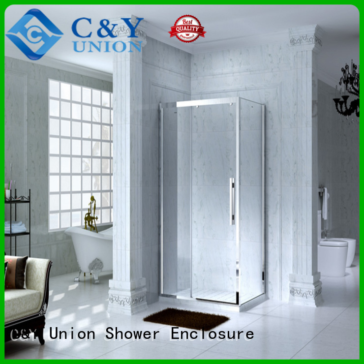 C&Y Union colorful shower cabin manufacturer for bathtub showers
