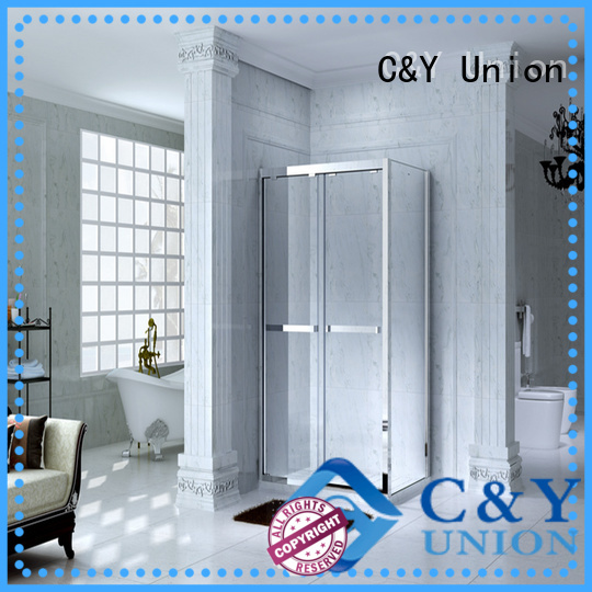 C&Y Union shower enclosures uk with sliding door for bathtub showers