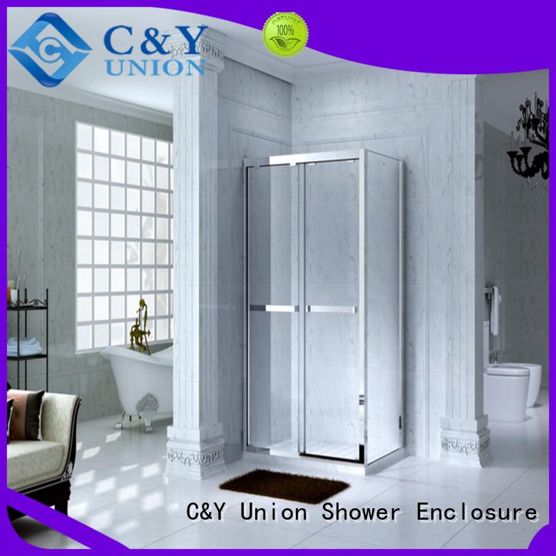 luxury framed shower enclosure with sliding door bagnio