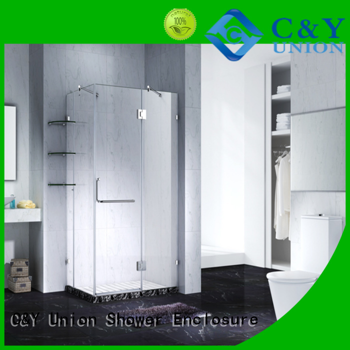 firm frameless shower shower screen for bathroom