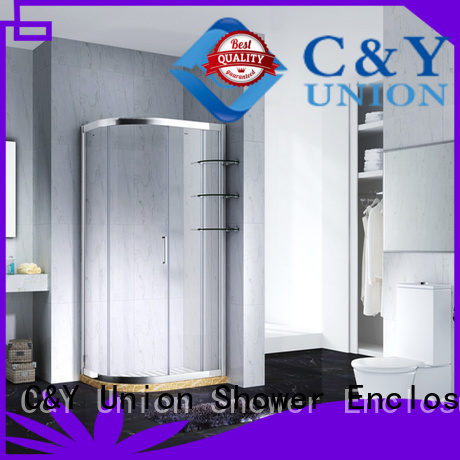 C&Y Union elegant shower cabin for sale for bathtub showers