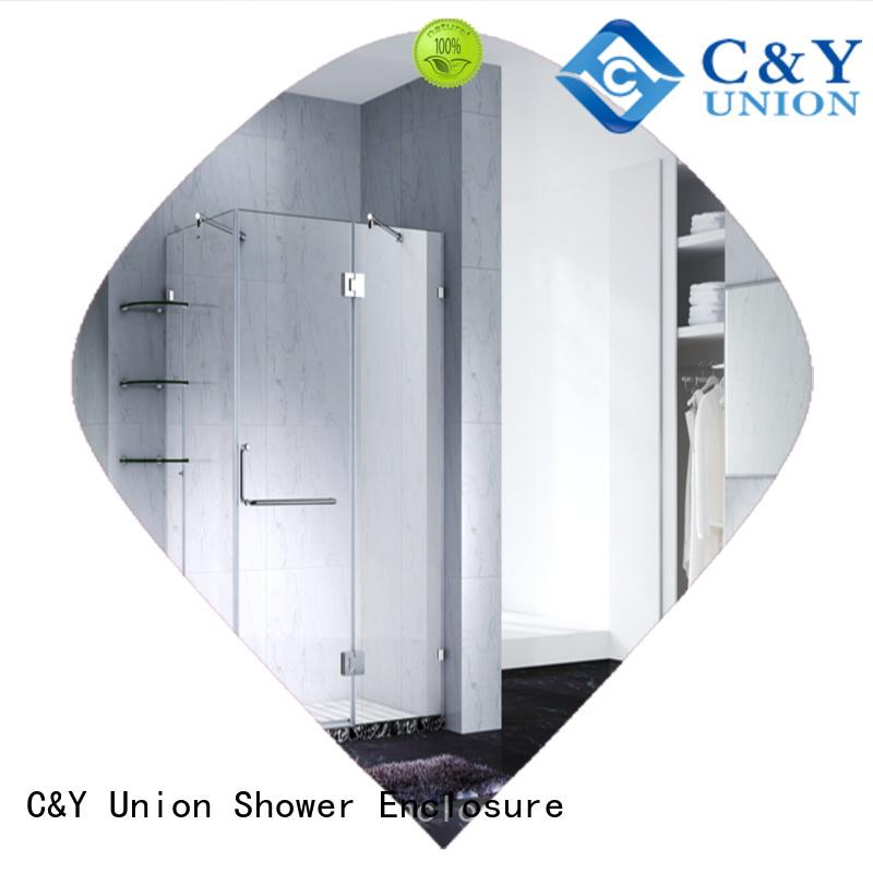 high quality frameless glass shower factory for bathtub