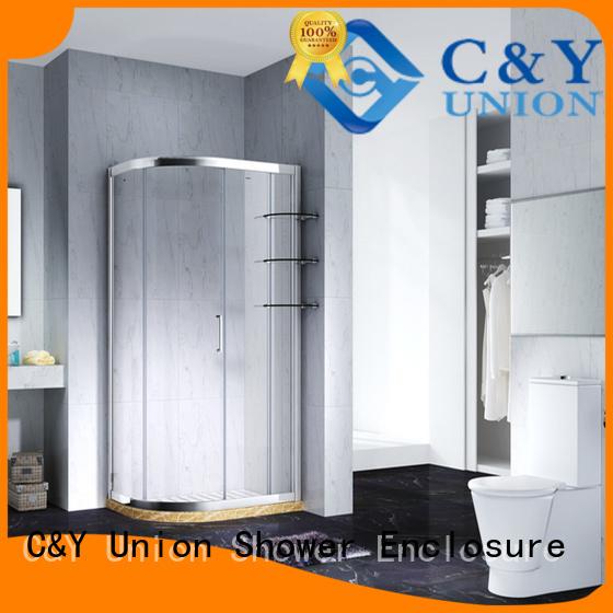 C&Y Union aluminum framed shower enclosure manufacturer for bagnio