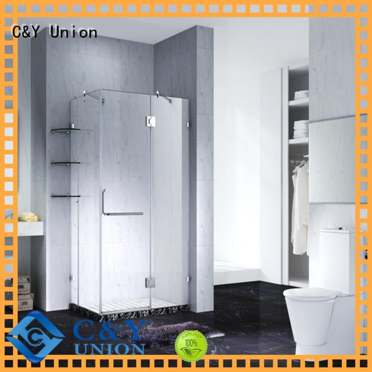 C&Y Union elegant frameless shower factory for bathroom