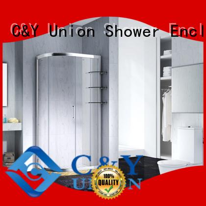 popular framed shower glass doors with sliding door for bath