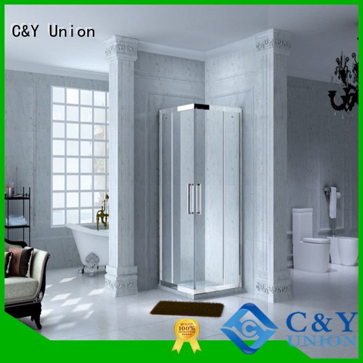cy1231 glass shower enclosures for sale alcove C&Y Union