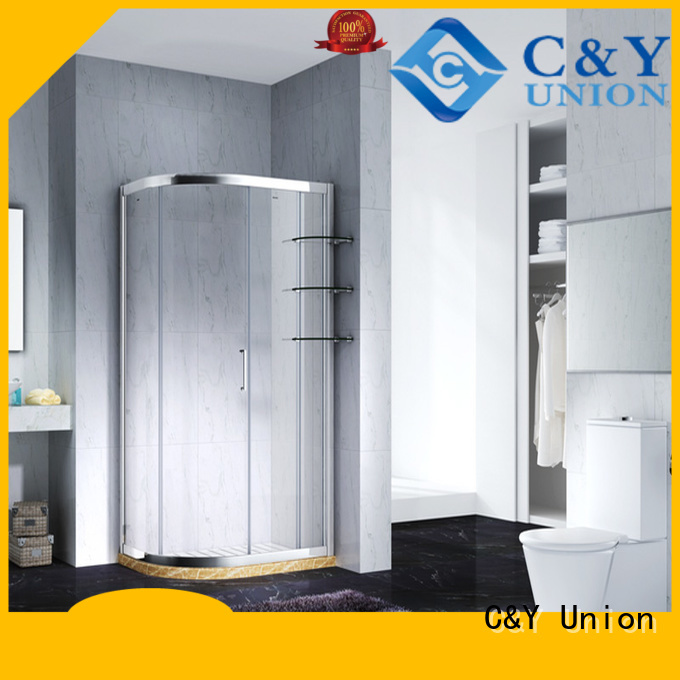 C&Y Union colorful framed shower enclosure for sale for alcove