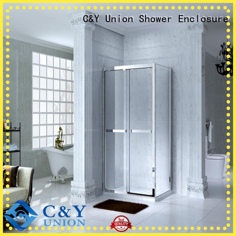 practical semi framed shower door for tub for bathroom