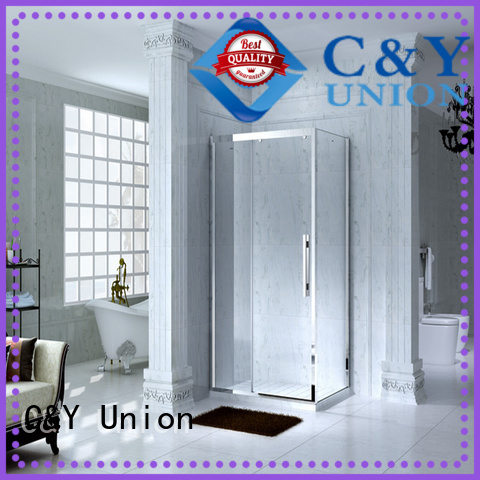 C&Y Union durable semi framed shower for sale for bagnio