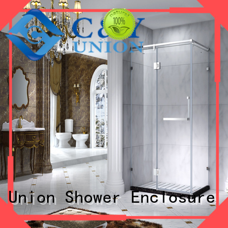 C&Y Union semi framed shower manufacturer for bagnio