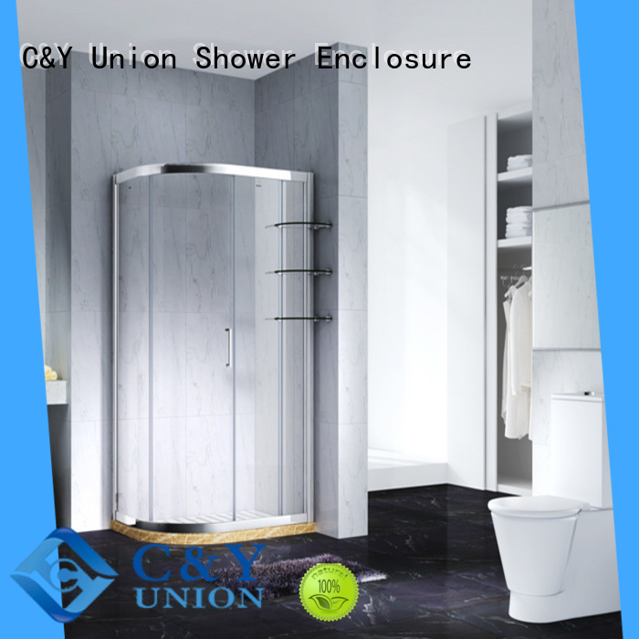 modern bathtub enclosures for corner C&Y Union