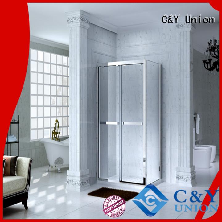practical semi framed shower manufacturer for alcove
