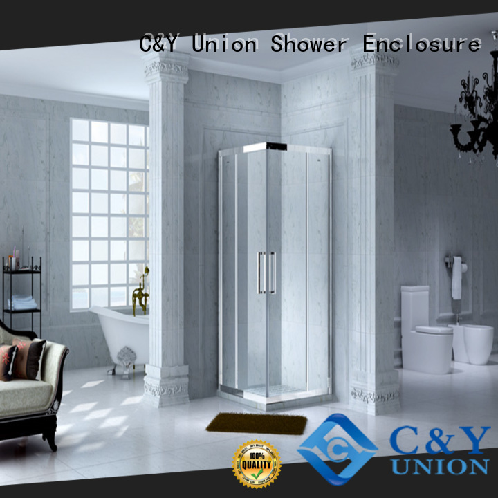 C&Y Union colorful custom framed shower doors for sale for bagnio
