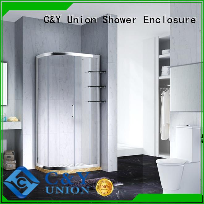 adjustable framed glass shower enclosure for sale for bagnio C&Y Union