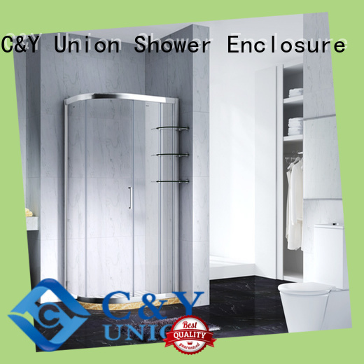 C&Y Union framed glass shower enclosure for sale for bagnio