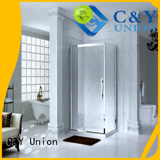 C&Y Union shower cabin for standalone showers