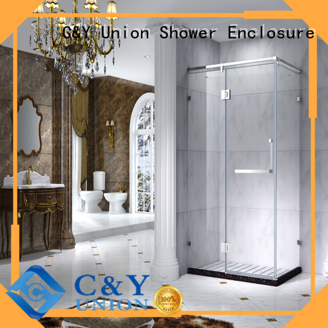C&Y Union semi framed shower for alcove