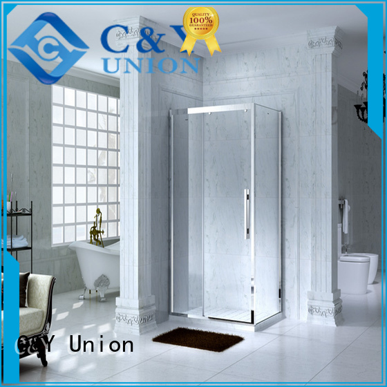 C&Y Union semi framed shower for bathroom