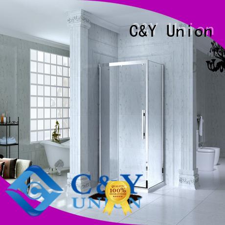 practical semi framed shower door manufacturer for bathtub showers