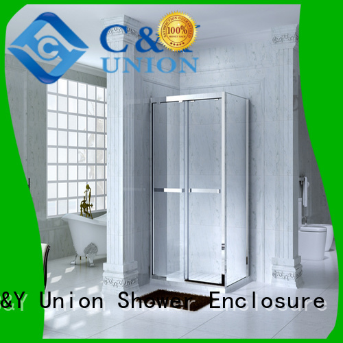 C&Y Union framed shower enclosure for sale for bath