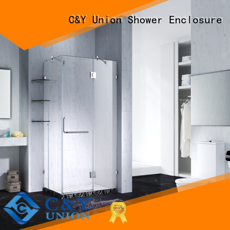 C&Y Union glass shower enclosures cabin for shower room