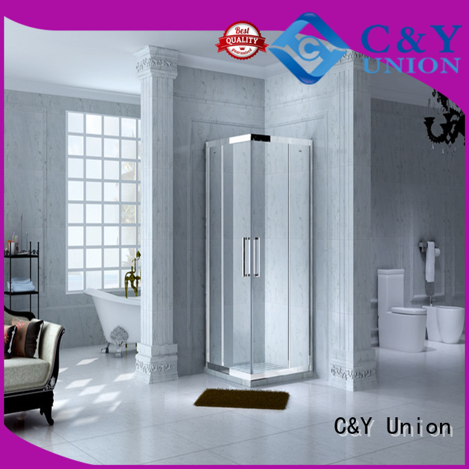 C&Y Union elegant shower cabin with sliding door for shower room