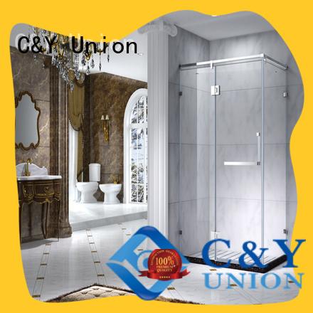 popular framed shower glass doors for tub for bath