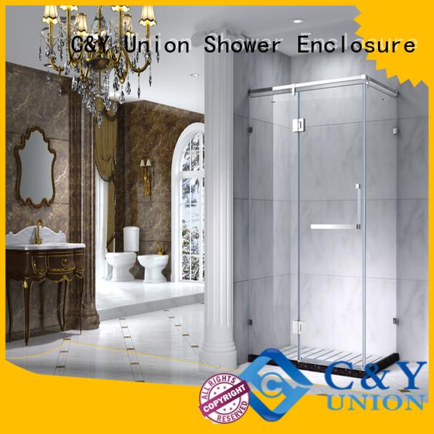colorful framed shower glass doors for sale for bathroom