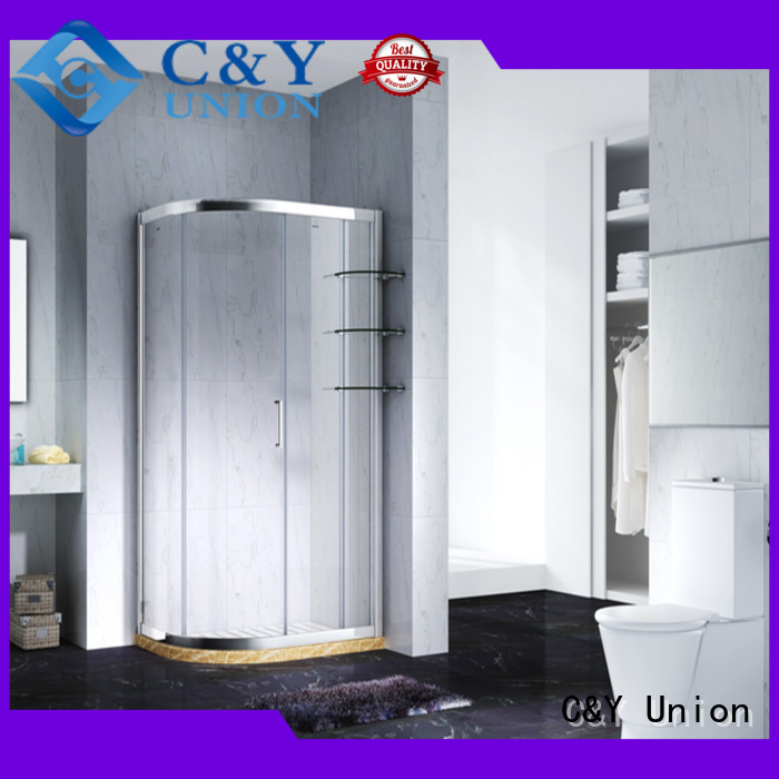 glass shower doors for tub fashionable C&Y Union Brand shower door enclosures