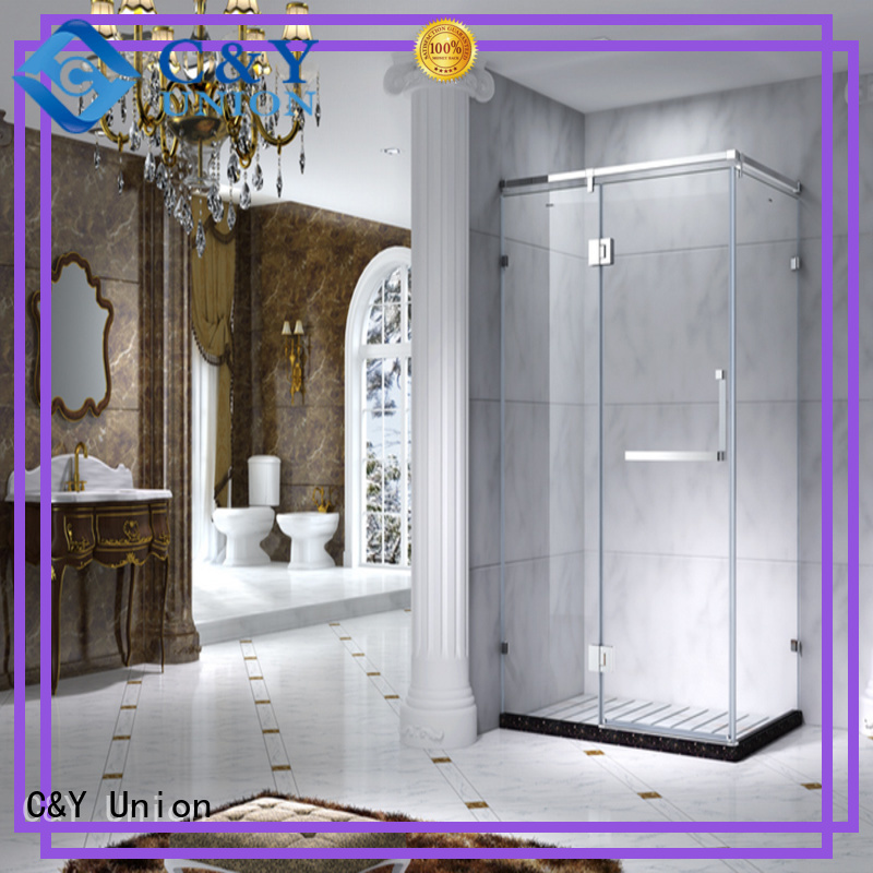 aluminum shower cabin for bathroom