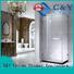 modern steel framed shower doors for tub for bath C&Y Union