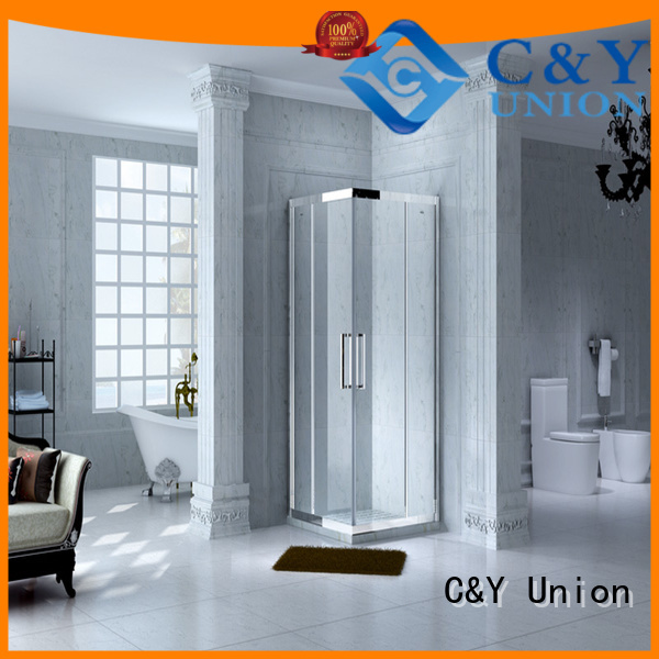 C&Y Union semi framed shower for shower room