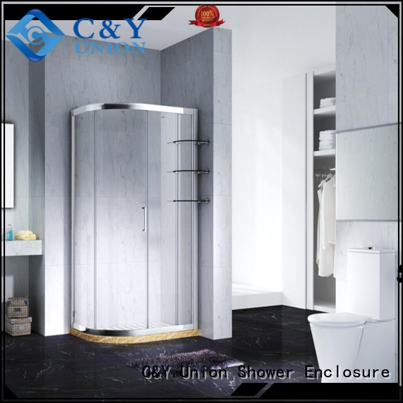 elegant framed shower glass doors for sale for shower room