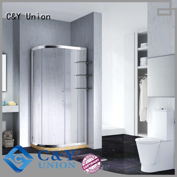 practical custom framed shower doors with sliding door for alcove
